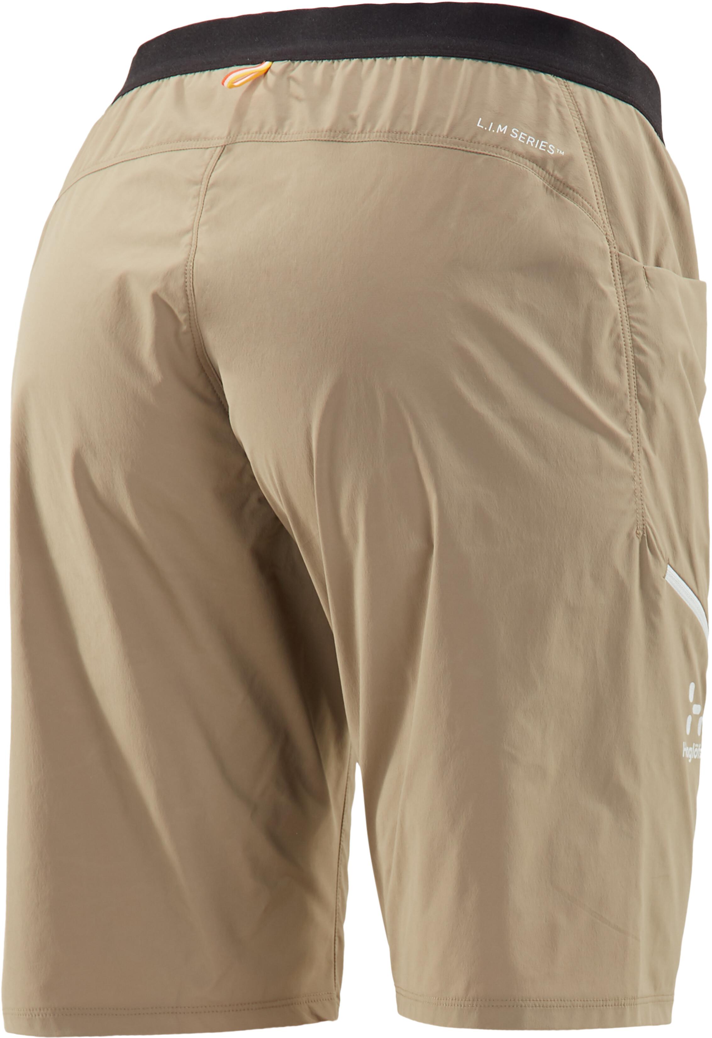 234785dfeb5 Haglöfs L.I.M Fuse Bukser korte Damer, dune | Find outdoortøj, sko ...